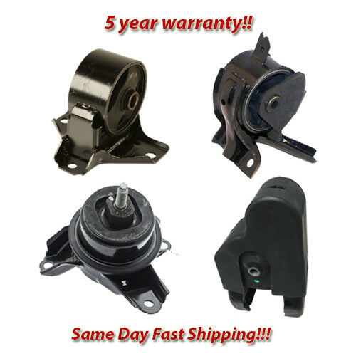 3.8L Front /& Rear Engine Motor Mount Set 4PCS for 2009-2010 Hyundai Azera 3.3L