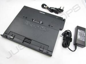Toshiba Tecra A9-10Q A9-11I A9-11K Dockingstation Port Replikator + Netzteil