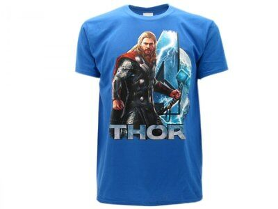 Objective T Shirt Thor Avengers Marvel Age Of Ultron Originale Blu Good Taste Other