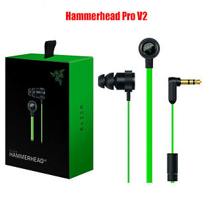 Razer-Gaming-Hammerhead-Pro-V2-PC-Music-Gaming-Headphones-Earphone-PC-Laptop-Mic