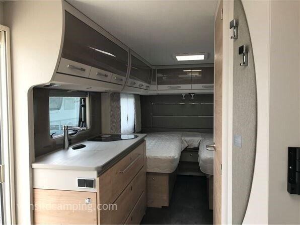 Dethleffs Nomad 510 LE, kg egenvægt 1373, kg totalvægt 1800