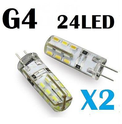 G4 Warm White 24 .X LED Light Lamp Bulb DC 12Volts Car Truck Boat RV 1.5Watts