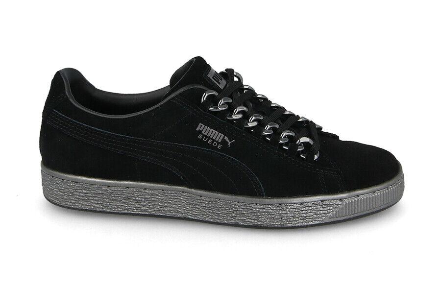 SCARPE DONNA scarpe da ginnastica PUMA SUEDE CLASSIC X CHAIN [367391 01]