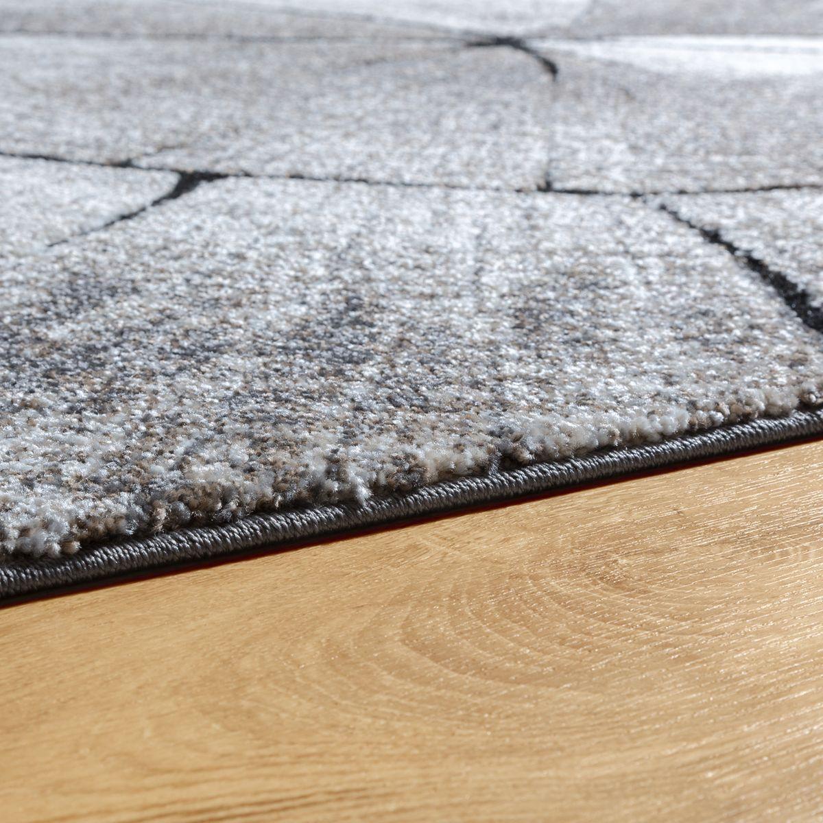 Teppich Modern Edel Mit Mit Mit Konturenschnitt Baumstamm Natur Design Grau Braun Beige 778314