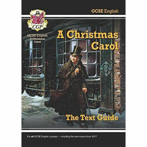 Christmas Carol Text Guide.Gcse English Text Guide A Christmas Carol By Cgp Books Paperback 2015