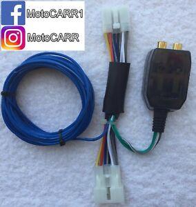 Add An Amp Amplifier Adapter WRX BRZ Impreza FJ Corolla Camry Tacoma 4-Runner tC