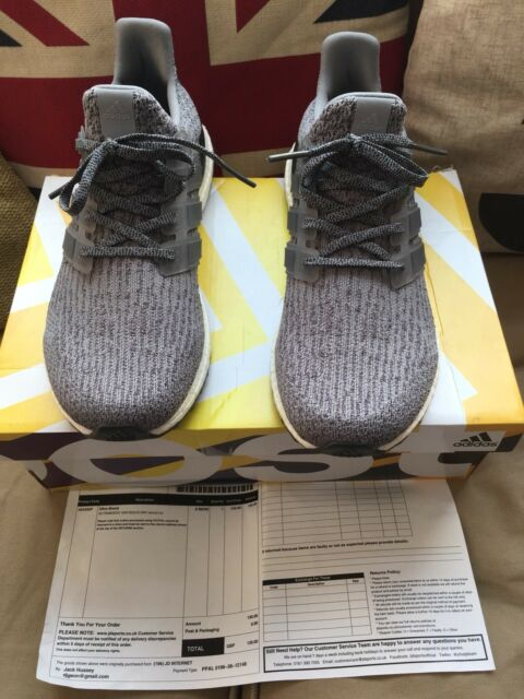 f29a4b14a0ea4 Adidas ultra boost 3.0 Mystery Grey UK 8 US 8.5 Gray Sneakers Trainers  BA8849