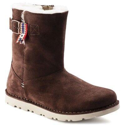 BIRKENSTOCK Damen Winter Stiefel Boots Westford 1007050 braun Leder gefüttert | eBay