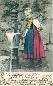 Ansichtskarte-Hessische-Volkstrachten-1906-Nr-956-II