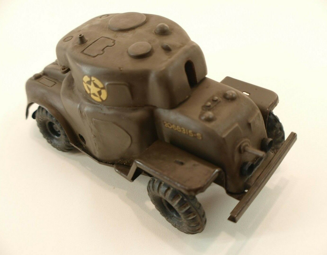 Tri-ang GB Harden Tank US Army Plastic Sheet Vintage Toy Clockwork 16