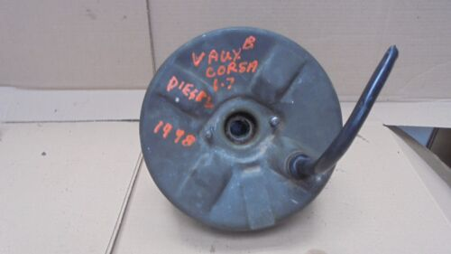 VAUXHALL CORSA B 1998 BRAKE SERVO CONCAVE TYPE
