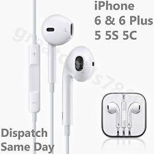 Genuine Apple iPhone 6 5 5S 5C 6 Plus iPod Headphone Earpods Earphones Handsfree