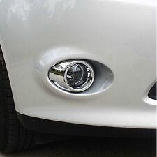 NEU Chrom Nebelscheinwerfer Blenden Abdeckung für Ford Focus 3 MK3 ST TDCI