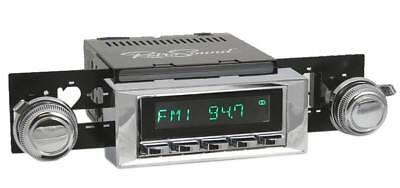Schneidig Für Chevrolet Nova 1968-79 Retrosound Oldtimer Auto Radio Dab+ Usb Bluetooth Aux Weich Und Rutschhemmend