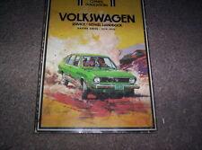 Volkswagon VW Dasher series 1974 1975 1976 Clymer Service Repair Manual NICE!