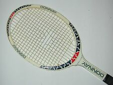 """THIERRY TULASNE"" DONNAY Vintage Signature Tennis Racquet - Cool Design - Rare"