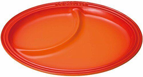 Nouveau Le Creuset Multi-Assiette Ovale L Taille Moyenne plaque Orange 910343-21-09