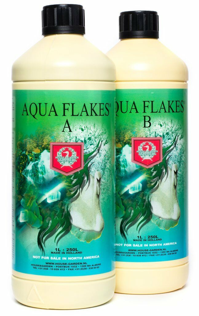 House & Garden Aqua Copos fertilizante Una & B Conjunto de 1 L
