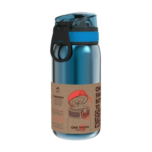 Stainless Steel 400ml Ion8 Leak Proof Kids/' Water Bottle 8 COLOURS!