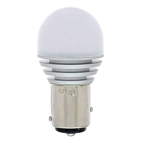 #1157 White LED 12V Park Tail Light Brake Stop Turn Signal Lamp Bulb EACH 7x6.1