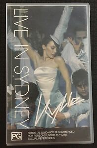 Kylie-Live-In-Sydney-KYLIE-MINOGUE-VHS-PAL-VIDEO