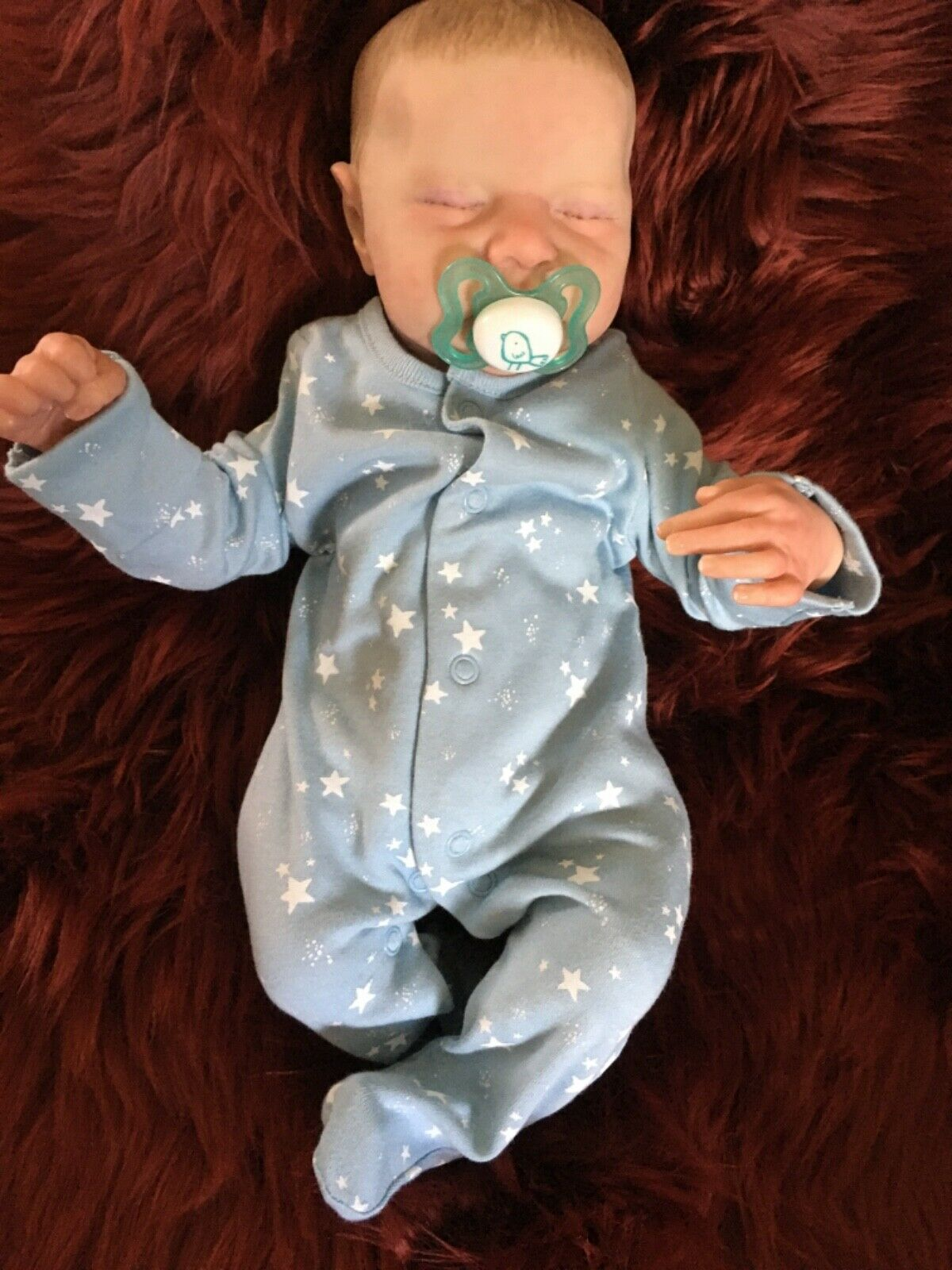 Beautiful reborn baby boy