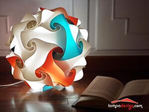 LAMPADA-LUCE-DA-TAVOLO-sfera-25-cm-Illuminazione-moderna-casa-design-3-STRATI