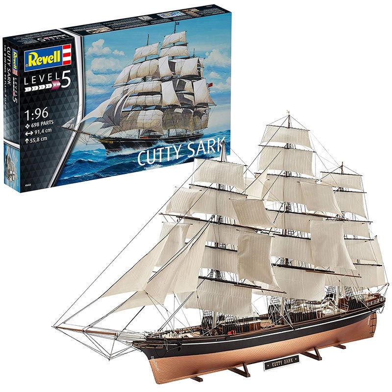 REVELL Cutty Sark 1 96 Ship Model Kit 05422