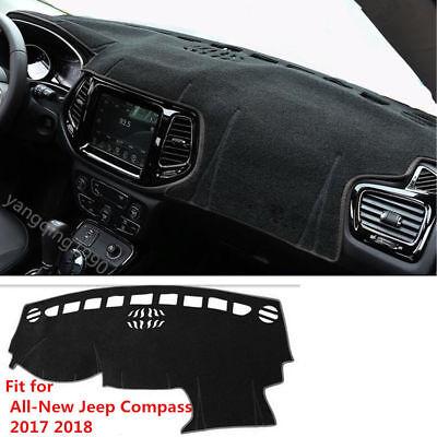 Dashboard Mat Carpet For Jeep Compass 2011-2014 Years Car Dashmat Sun Cover Pad