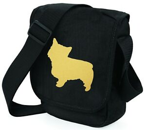 Norwich-Terrier-Bag-Shoulder-Bags-Metallic-Gold-Dog-on-Black-Handbag-Mothers-Day
