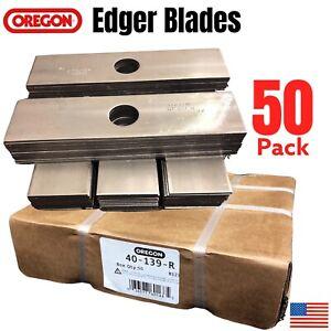 "100 USA Mower Blades 8/""x2/"" Unpainted Edger Blade for Echo® 720237001 RYOBI® 6132"