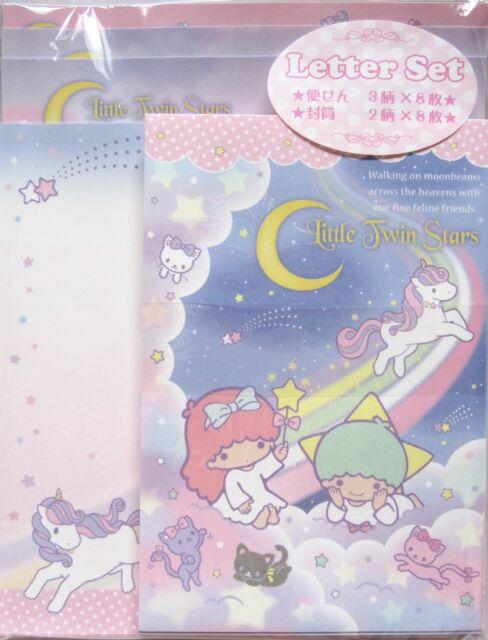 Sanrio Little Twin Stars (Hello Kitty) Letter Set~KAWAII!!