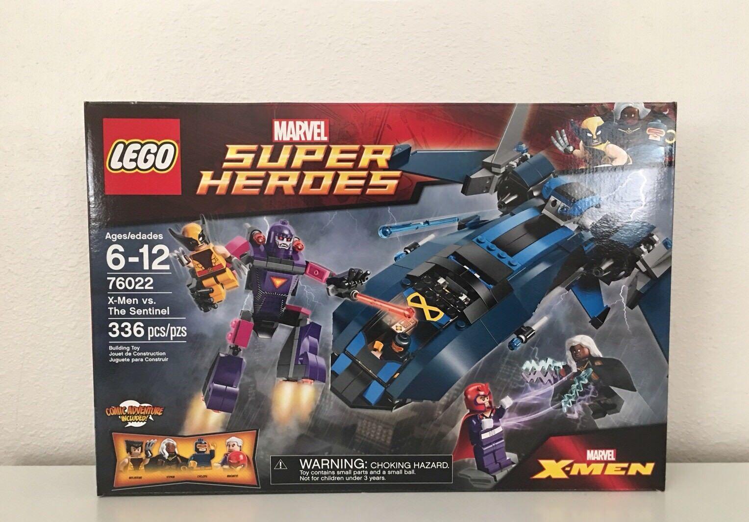 Lego 76022 súper Heroes X-men Vs El Centinela Conjunto retirado