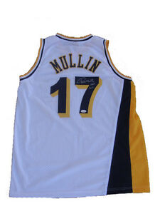 Chris Mullin Signed Indiana Pacers White Home Jersey JSA