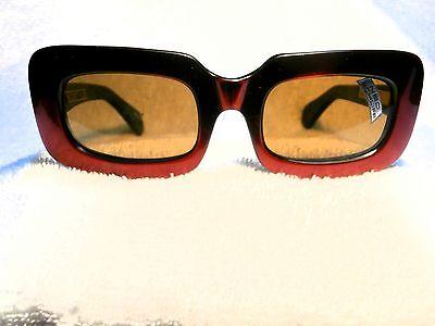 """Ernst 1970 Groß Rot Sonnenbrille Von Neostyle """" Montmatre """" Neu deutschland"""