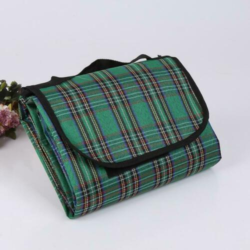 Waterproof Outdoor Picnic Mat Pad Plage Camping Pliant Plaid Tapis Siège Couverture