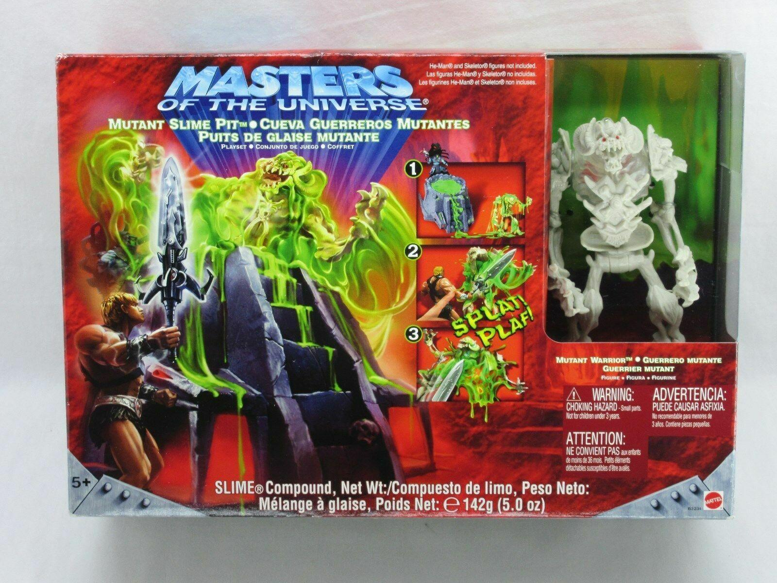 Masters del Universo Mutant Slime Pit Juego Sellado De Fábrica