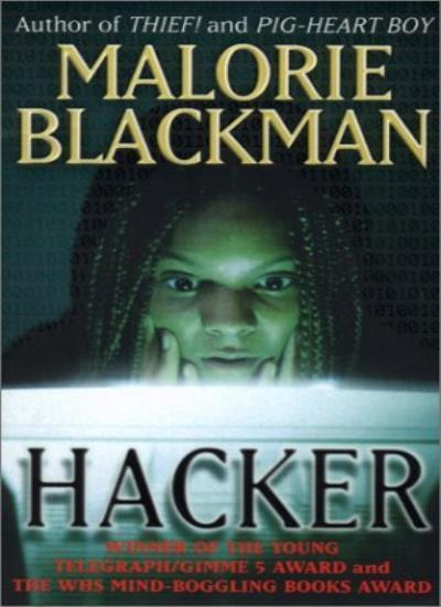 Hacker By Malorie Blackman. 9780552527514