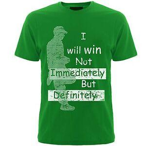 Slogan tshirts ( I will win ) tshirts mens