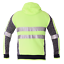 Hi-Vis-Jacket-Hoodie-Jumper-3M-Reflective-Fleece-Zip-AS-NZS-1906-4-4602-1-2011 thumbnail 6