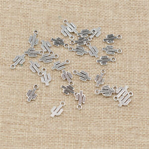 30-Pcs-Tibetan-Silver-Cactus-Shaped-Charms-Pendants-Beads-for-Jewelry-Making-DIY