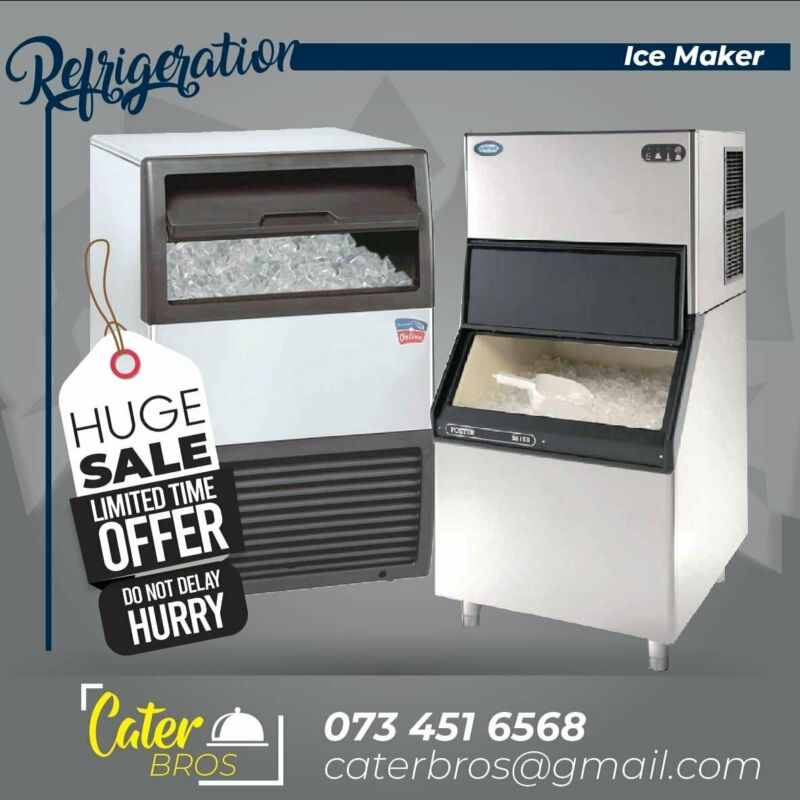 COMMERCIAL ICE MAKERS & REFRIGERATION