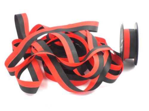 SMITH CORONA STERLING SPOOL TYPEWRITER RIBBON BLACK RED FABRIC INK RIBBON