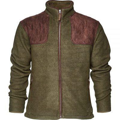 *Seeland Bolton Fleece Jacket Full Zip Carbon Blue Shooting Casual Hunting