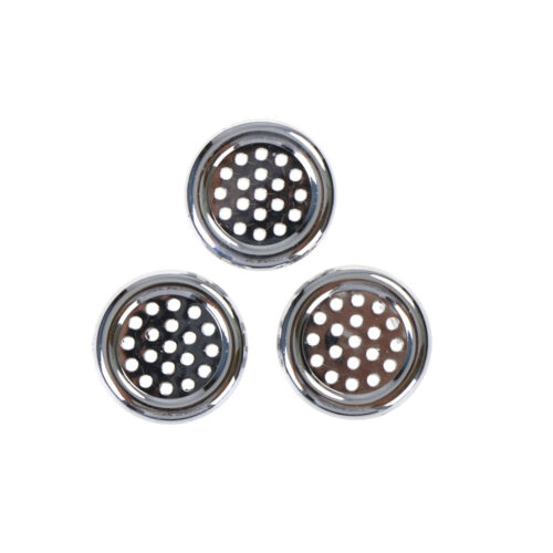 3x runder Ring Überlauf Abdeckung Stecker Sink Filter WH