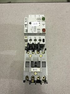 Used Allen Bradley Contactor 100 A09nd3 With Manual Motor