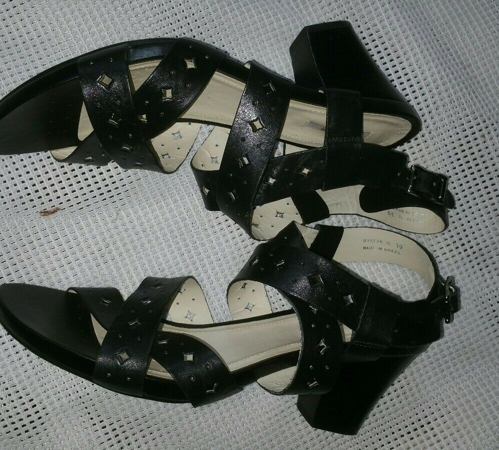 Top Original Geox   Sandalen - Damen Sandale  Geox Schwarz gr.39 f0d7af