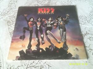KISS-DESTROYER-CASABLANCA-NBLP-7025-1976-FIRST-PRESSING