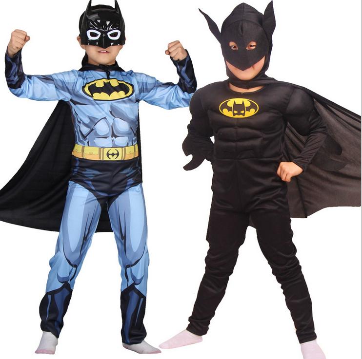 Rubies Batman Muscle Kinder Kostüm 3-10 Jahr Jungenkostüme Halloween Carnival