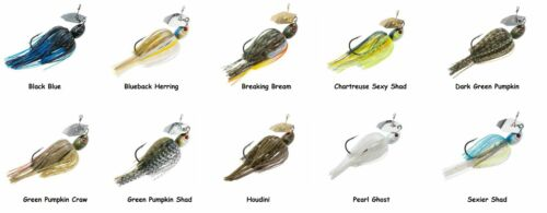 Choice of Colors Z-Man Project Z Chatterbait and 1//2 oz. 3//8 oz